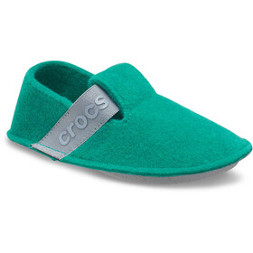 Crocs Classic Chaussons Enfant, deep green